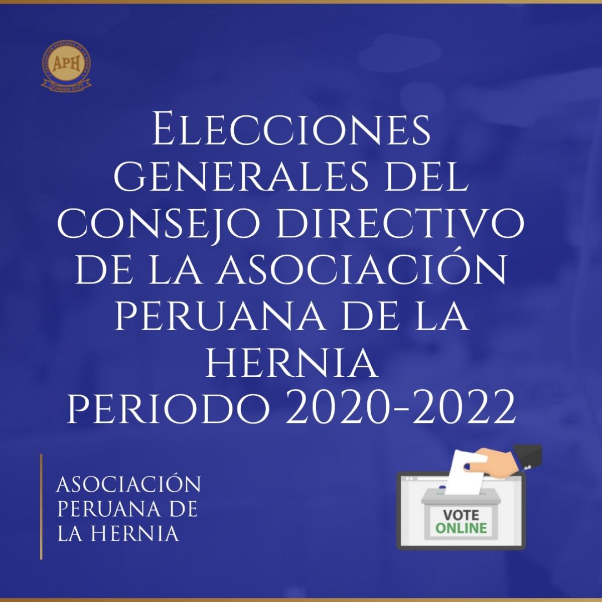 Elecciones del nuevo Consejo Directivo