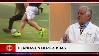 Dr. Pedro Villagra habla sobre las hernias en entrevista para América Noticias