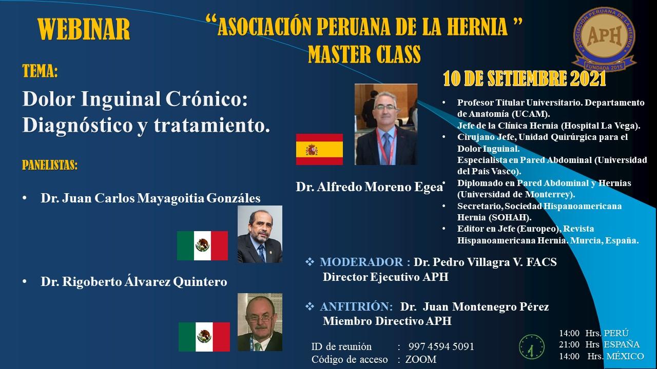 """Asociación Peruana de la Hernia """"Master Class"""""""